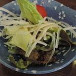 幸の鶏 - サラダ