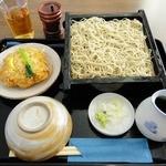 川越 藪蕎麦 - 天せいろう(1,600円)川越藪蕎麦