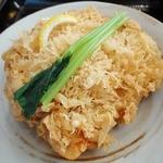 川越 藪蕎麦 - 天せいろうにつく小海老のかき揚げは外サクサク、中ふんわり♪