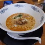 リヨン - リヨンの一之舟入(魏さん)プロデュースの担担麺980円。器がデカいな~(14.09)