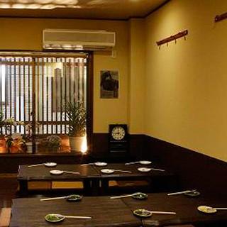 2Fお座敷は15名~20名様までご利用OK!完全個室です。
