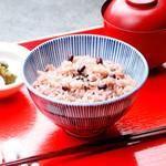 豆まる - ふっくらと炊きあげた御赤飯