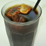 カフェバーバー 床茶 - アイス珈琲(無糖)450円