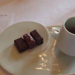 Le Chocolat Alain Ducasse - ル・ムリース アランデュカスにて