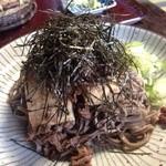 山本屋 - 俺の肉そば(1,500円)