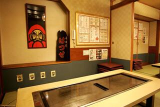 千日前 はつせ - 店内は全て個室となっており、少し懐かしい雰囲気は老舗ならではです。