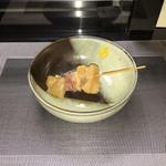 厳選日本酒と四季の肴 おでんや潮 - アキレス、牛スジミックス!