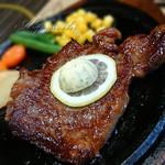 なかにし - サービスランチのステーキ