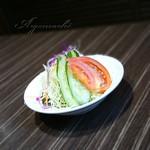 なかにし - サービスランチのサラダ
