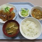 青森県庁生協・本庁食堂 - A定食 味噌カツ