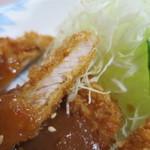 青森県庁生協・本庁食堂 - 味噌カツ(アップ)