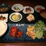 恵利 - ちょこちょこ定食1000円