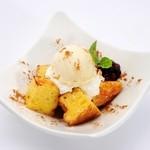 留萌マルシェ - 「フレンチトーストのアイス添え~留萌のはちみつかけ~」