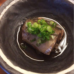 は満寿司 - お昼ごはん(¥1,080)セットの煮魚、カマス