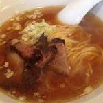 高さんの店 - 中華そば   あっさりスープで美味しい。