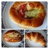 田苑 - 料理写真:◆グリーンカレーパン(165円)・・マイルドなカレーですので食べやすいですよ。 ◆シュガーレーズン(165円)・・定番の品ですが、パン生地の噛みごたえもよく美味しい。 ◆クロワッサン