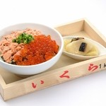 留萌マルシェ - ランチ「鮭とイクラの親子丼」