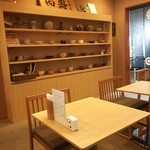 喫茶かんばやし - 喫茶スペース