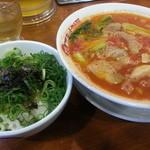 太陽のトマト麺 - 太陽のAランチ