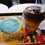 マクドナルド - ドリンク写真:珈琲とセットで200円