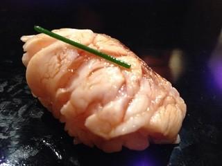 乙女寿司 - のどぐろ。美味しくてため息ではなく笑いが出ました。