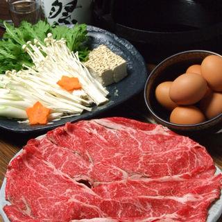 関東風「すき焼き」
