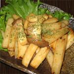 エリンギと長芋のバター醤油焼き 480円(税別)