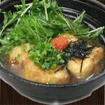 揚げ出し豆腐or茄子の揚げだし 480円(税別)