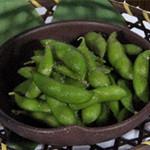 枝豆(茶豆の塩茹で)  360円(税別)