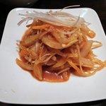 韓国家庭料理 ジャント - イカ刺し
