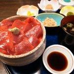 東家 - 本鮪丼ランチ