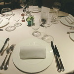 レストラン コートドール - テーブル