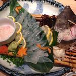 さかな市場 - 2014/10/☆  カワハギの刺身