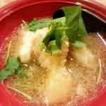 升源 - 里芋と蕪の煮おろし!繊細な味付!