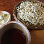 31642801 - 皿盛り蕎麦  750円