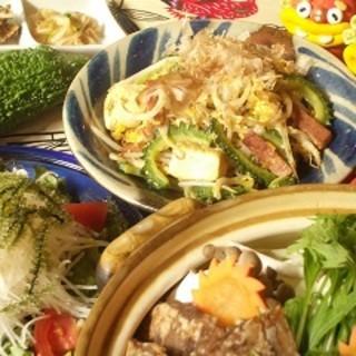 歓迎会・送別会予約承り中!!盛りだくさんの本格沖縄料理