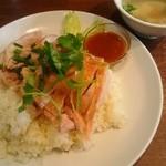 SOI 7 - 地鶏の炊き込みご飯・蒸し鶏添え