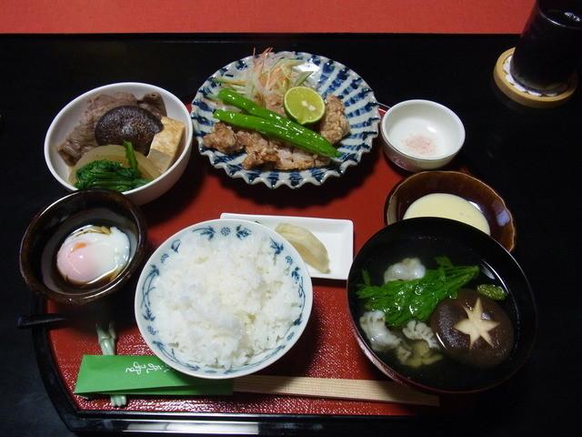 武蔵野 - 2014.10)肉料理の定食(1500円)