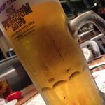 焼き鳥・炙り炭焼き をどり - 生ビール