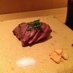 31665758 - お肉は焼き加減も聞いてくれます。