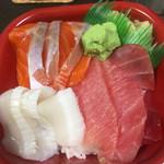 31667804 - 三色丼
