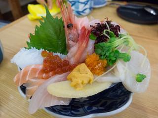 鮨・あつ賀 - 海鮮丼