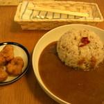 31668739 - 薬膳カレー 辛口/甘口/ビーガン 各¥700(込)