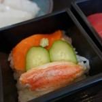 31669019 - (2014/8月 朝食)お寿司