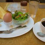 銀座コージーコーナー - トーストセット全景