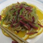 中国料理 李芳 - 野菜入りくらげの和え物