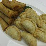中国料理 李芳 - はるまき、揚げチャーシューパイ