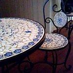 カフェ スール - テーブル