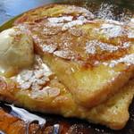 カフェ コチ - フレンチトースト(アップ、2014年9月)