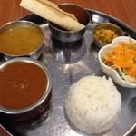 インド食堂 チチル&シシリ - 『チチル&シシリ定食B』様(1093円)